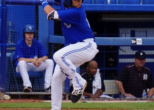 58757e209 Bo Bichette, the 2017 MiLB batting champ, rocketed up prospect lists after  an amazing season that led to a Futures Game appearance and a promotion to  High A ...