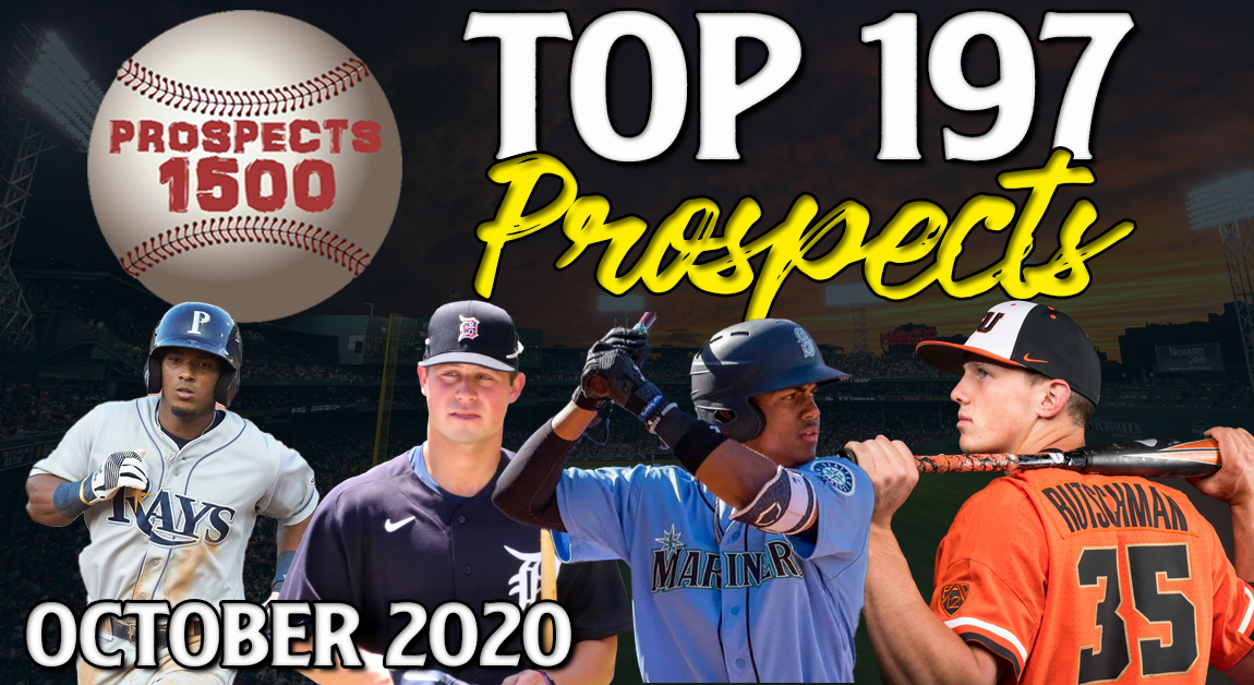 Image Link to Prospects1500 Top 197 Prospects (October 2020)