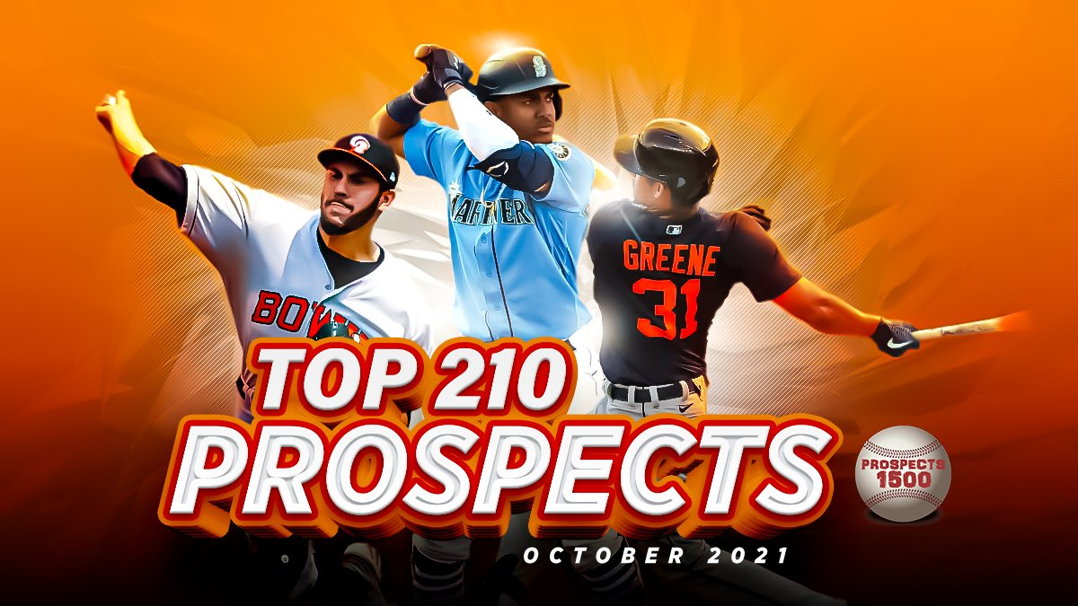 Image Link to Prospects1500 Top 210 Prospects (October 2021)